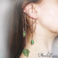Mother Nature ear cuff wrap by AmeliaLune