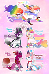 Pride Month Batch - SoulFox Auction+Raffle (OPEN) by watercoIor