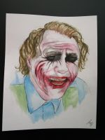 The Joker by Therealjazzbertie