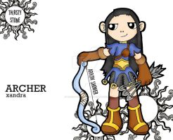 xandra the archer by thirsty-stone