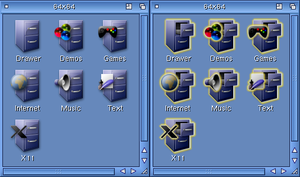 Amiga Icons by klesterjr