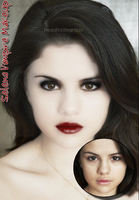 Selena Vampire MakeUp by headfirstfearless