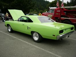 Sitting Pretty - 1970 Plymouth GTX 440 by RoadTripDog