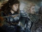 Fili and Kili by TheCorinna