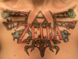Legend of Zelda Tattoo by Midna514