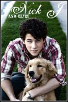 Nick Jonas and Elvis - deviant by JoeJonasFans92
