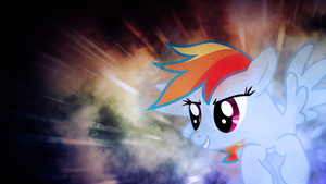 Rainbow Dash Flying Wallpaper by SandwichDelta