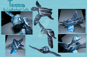 Tessa the Leatherback Turtle by Rene-L