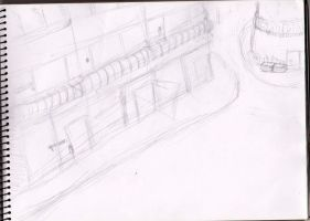 A fine street (Unfinished sketch) by Prom15e13elieve10ve