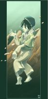 Toph rocks by avatar-fan