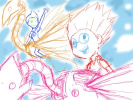 MTR::. Unlimited Sky SKETCH by MarticusProductions
