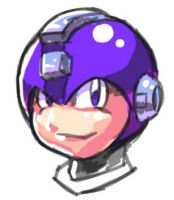 It's Just Mega Man's Head. by Egoraptor