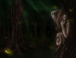 A Dryad by AnotherLuciDreamer