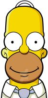 Homer Simpson by tonetto17