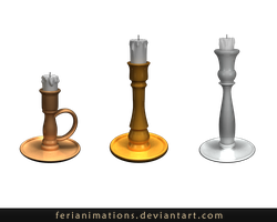 candlesticks by FeriAnimations