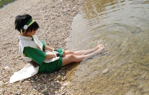 Toph II by AbelTheKeeper