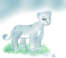 Blue Nala .:Cub:. by blackgirlanimefan152