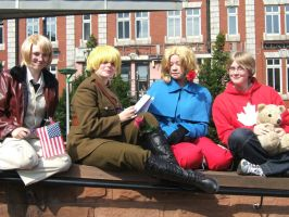 Hetalia Group by misteve