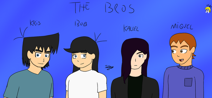 The bros by iedasb