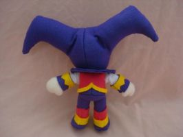 NiGHTS test plush back by NiGHTSfanKevin