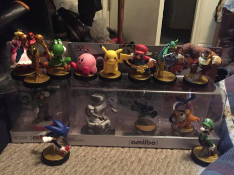 My Amiibo Stash by DeadlyToxic777