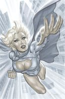 Power Girl by mrno74