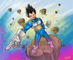 Vegeta by RIVOLUTION