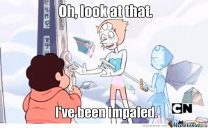 Impaled Pearl by rabbidlover01
