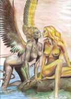 Tribute to Boris Vallejo by AndreaVictoria