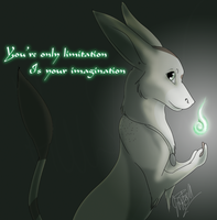 Your imagination by Whitelupine