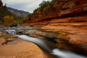 Slide Rock by TrentLarsonphoto