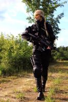 Playing Airsoft by KaylaDavion