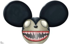 Deadmau5 Head: Twisted Mau5 by Ingoro
