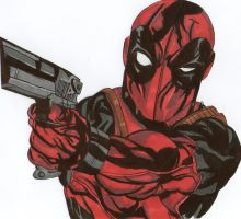 Deadpool by dinofred96
