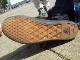 Triforce-shoe by Moscalover