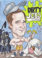 Mike Rowe from Dirty Jobs by FrijolesGirl