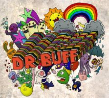 DR BUFF coloured 2 - rebuffed by Renegade-Hamster