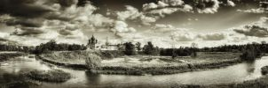 Panorama of Suzdal by dzpal