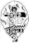 Rabble of 2- Black + White by JScomics