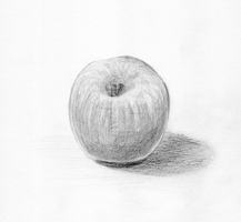 Apple Sketch 02 by theblindalley
