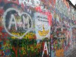 John Lennon Wall- Yellow Submarine by Sisthra