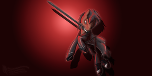 Sword Art Online Crossover-Kirito Ponified by thetriforcebearer