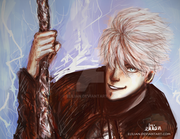 Jack Frost - Rise Of the Guardians by Elilian