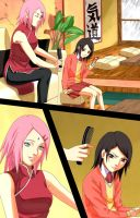 Uchiha girls by ioana24