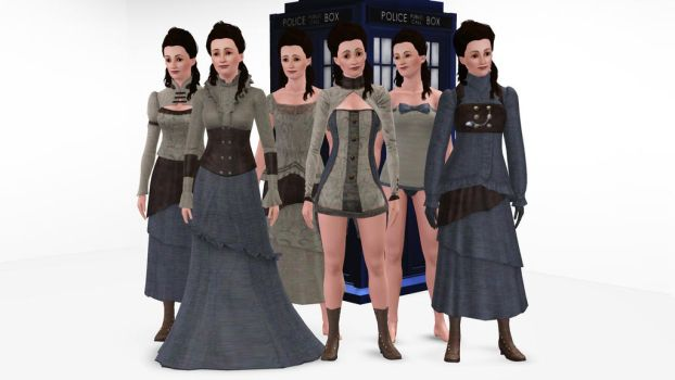 The Sims 3 - Doctor Who - Sexy TARDIS by exangel42