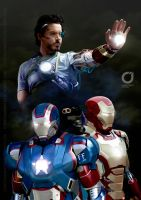 IRON MAN 3 / Speed Painting by MOROTEO56
