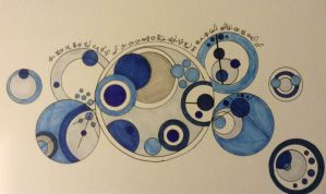Cicrular Gallifreyan Part 1 by nerdliterature