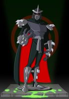 Collab - Shredder: 200X Toon by happymonkeyshoes