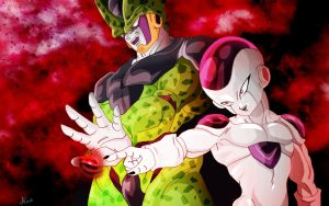 Frieza Cell Wallpaper by DiruLiCiouS