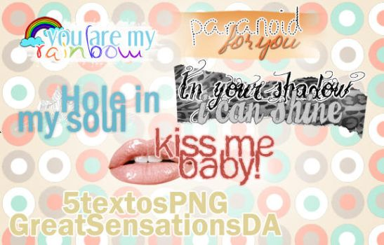 5textosPNG by greatsensations